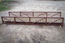 pedestrian bridge available for custom builds